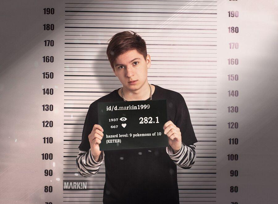 Обвиняемый в экстремизме и оскорблении чувств верующих за картинки в социальной сети «ВКонтакте» Даниил Маркин
