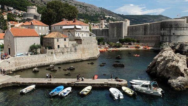 Хорватский город Дубровник