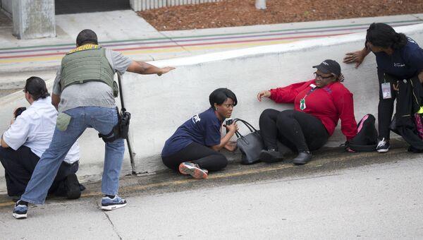 Ситуация в аэропорту Форт-Лодердейл в штате Флорида, где произошла стрельба. Архивное фото
