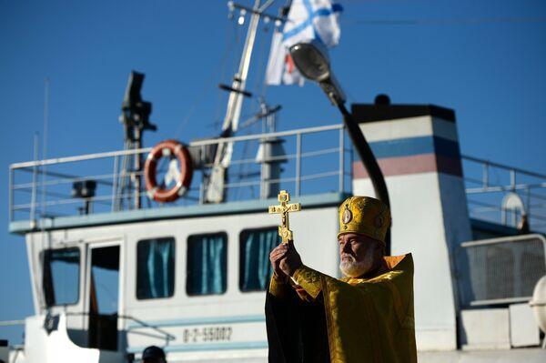 Корабль-церковь Святой апостол Андрей Первозванный
