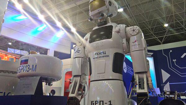 Базовая роботизированная платформа БРП-1, разработанная Центром Хруничева