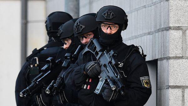 Сотрудники подразделения спецназа Федеральной полиции Германии