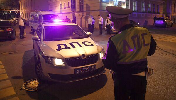 Неизвестный открыл огонь по полицейским в центре Москвы. 23 августа 2018