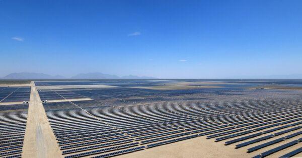 Солнечная электростанция в Мексике