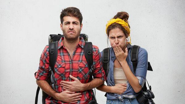 Туристы страдают от симптомов отравления