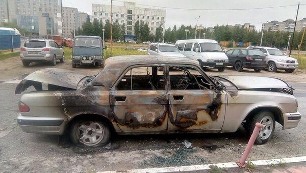 В Нижневартовске полицейские по горячим следам задержали мужчину повредившего три автомобиля. 27 августа 2018