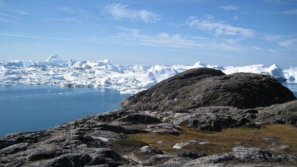 Ледниковый фьорд Илулиссат (Гренландия)