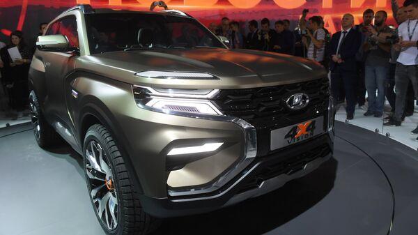 Автомобиль LADA 4x4 Vision на Московском международном автомобильном салоне 2018