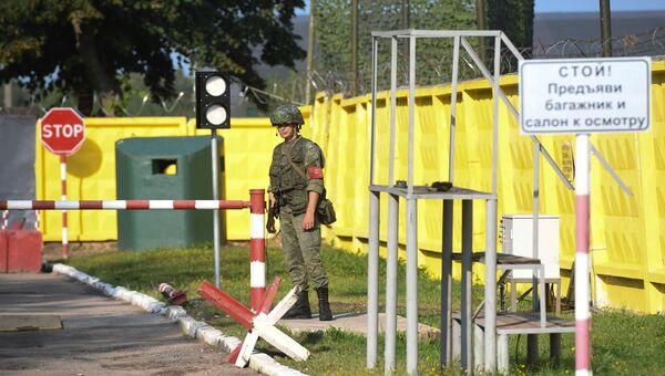 Военная часть, на территории которой находится ангар с обломками самолета Ту-154М президента Польши Леха Качиньского