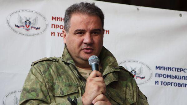 Экс-министр доходов и сборов ДНР Александр Тимофеев