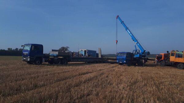 Авария на газопроводе в Курской области