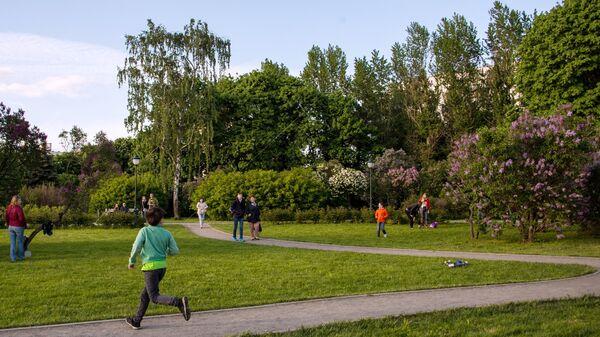 В московском парке
