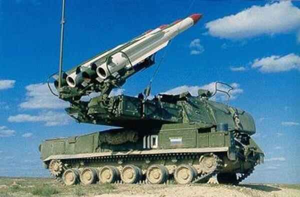 Зенитно-ракетный комплекс Бук-М1