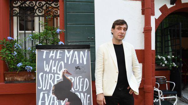 Российский актер Евгений Цыганов на вечеринке в честь премьеры фильма Человек, который удивил всех