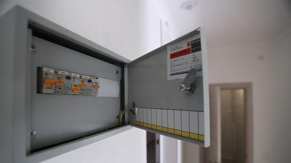 Электрический щиток в многоэтажном жилом доме
