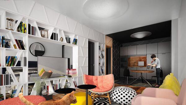 Проект архитектора Евгения Леонова и United Riga Architects