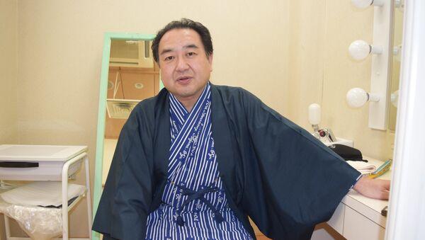 Японский актер театра Кабуки Накамура Гандзиро IV