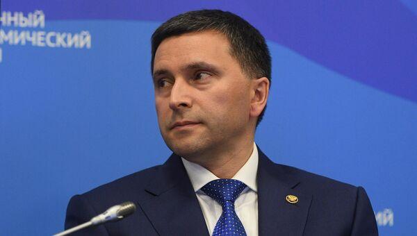 Министр природных ресурсов и экологии РФ Дмитрий Кобылкин на IV Восточнолм экономическом форуме