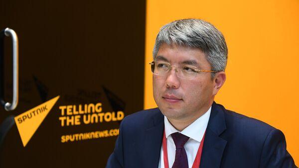 Глава Республики Бурятия Алексей Цыденов. Архивное фото