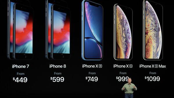 Презентация новых смартфонов Apple iPhone XS, iPhone XS Max и iPhone XR. Архивное фото