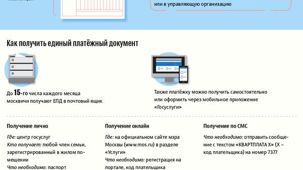 Что такое единый платежный документ и как его читать