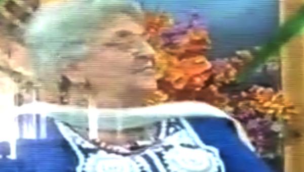 Стоп-кадр эфира с участием профессора Риты Джитендры