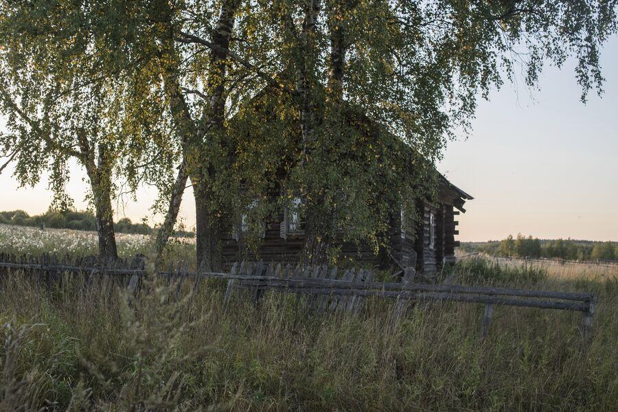 Дом в селе Кукуй. Макарьевский район, Костромская область