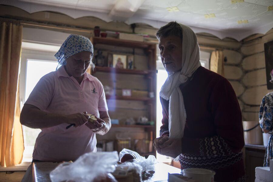 Татьяна — последний житель села Кукуй. Село Тимошино, Макарьевский район, Костромская область