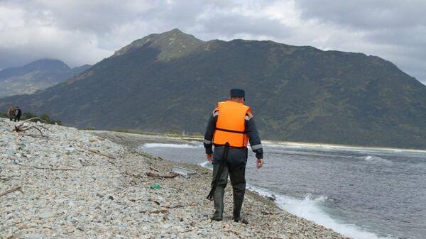 Поисковая операция в бухте Большая Саранная Авачинского залива, Камчатский край