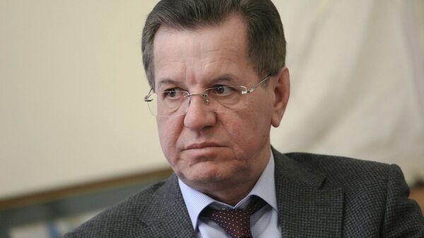 Губернатор Астраханской области Александр Жилкин. Архивное фото
