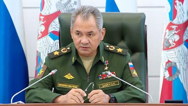 Министр обороны РФ, генерал армии Сергей Шойгу . Архивное фото
