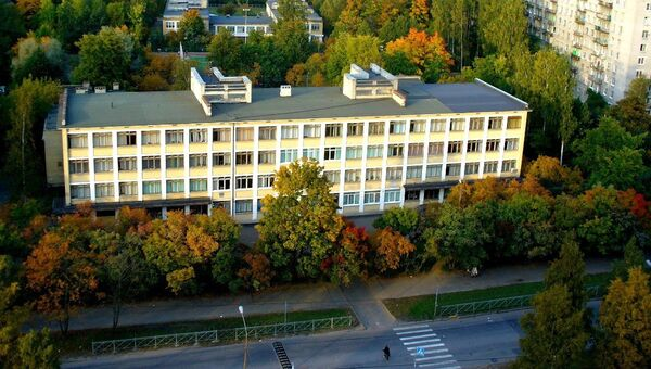 Школа №111 в Санкт-Петербурге. Архивное фото