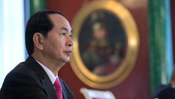Президент Социалистической Республики Вьетнам Чан Дай Куанг. Архивное фото