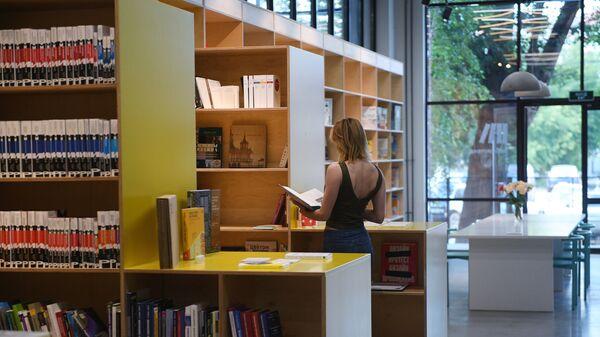 Библиотека на территории кластера Октава в Туле