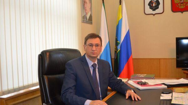 Мэр Комсомольска-на-Амуре Андрей Климов