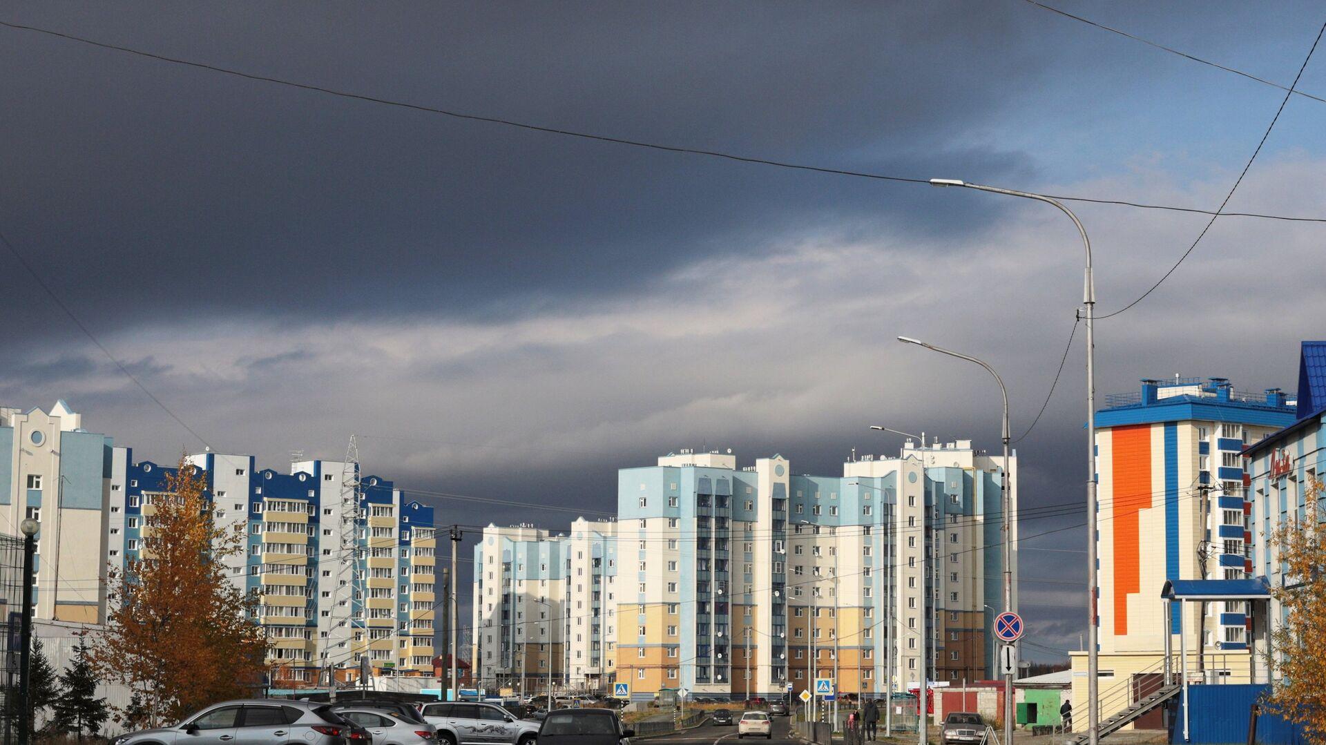 Современная жилая застройка в Салехарде - РИА Новости, 1920, 16.07.2021
