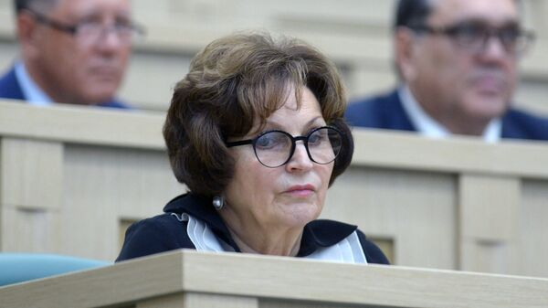 Сенатор, председатель Союза женщин России Екатерина Лахова