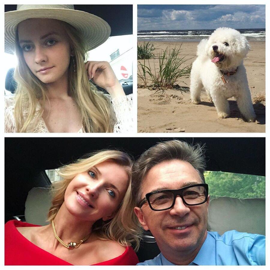 Валерий и Виола в Москве, дочь в Париже, пес в Юрмале