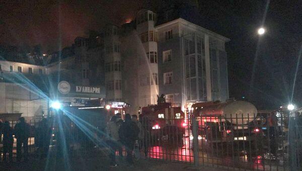 Пожар в жилом доме на улице Вавилова в Томске. 27 сентября 2018