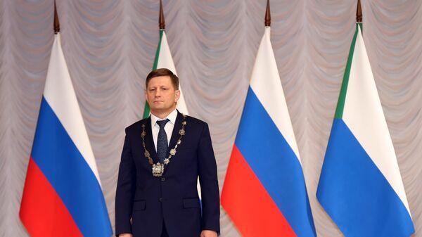 Губернатор Хабаровского края Сергей Фургал. Архивное фото
