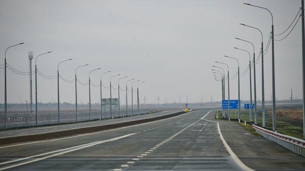 Открытие движения на участке автодороги Обход Оренбурга