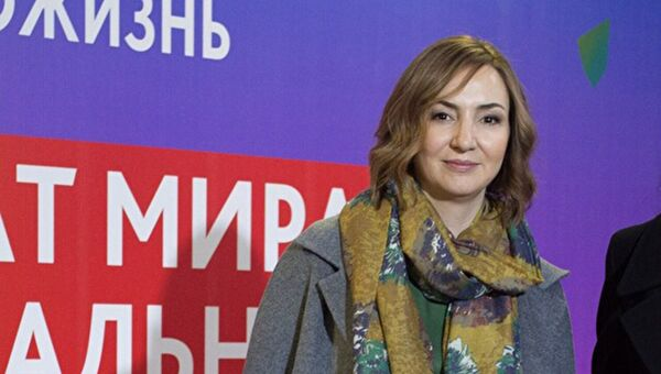 Журналист Ирина Крючкова. Архивное фото