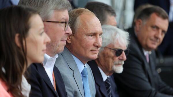 Экклстоун: я бы хотел, чтобы Путин правил Европой