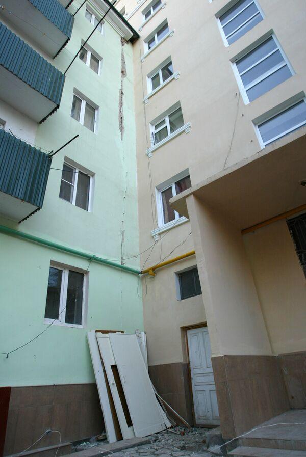 Землетрясение в Грозном