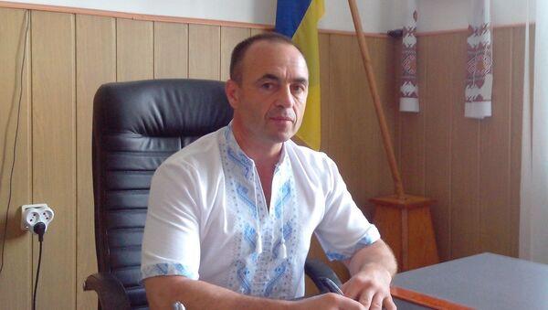 Гниванский городской голова Владимир Кулешов. Архивное фото