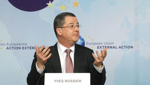 Посол Швейцарии в Москве Ив Россье
