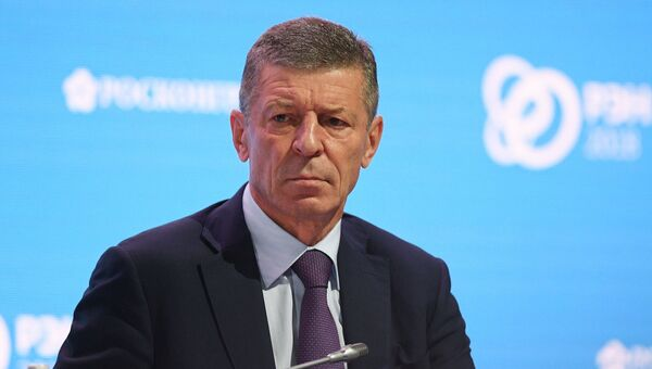 Заместитель Председателя Правительства РФ Дмитрий Козак. Архивное фото.