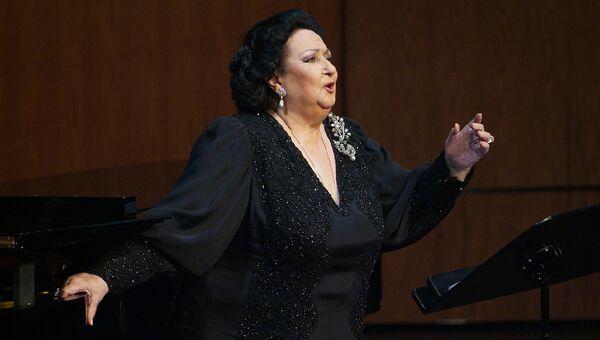 Оперная певица Монтсеррат Кабалье. Архивное фото