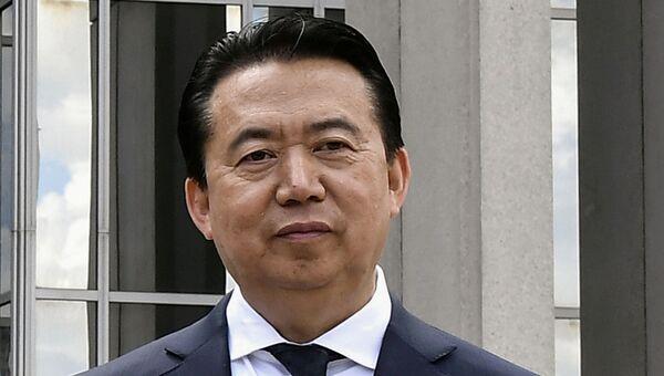 Президент Интерпола Мэн Хунвэй. Архивное фото