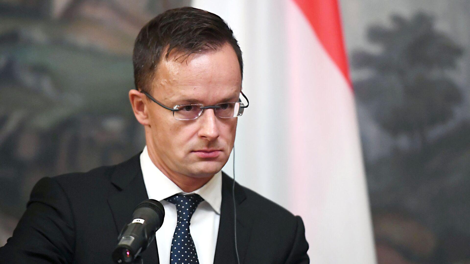 Глава МИД Венгрии Петер Сийярто - РИА Новости, 1920, 27.11.2020